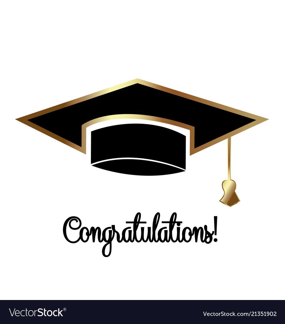 Congratulations graduates graduation day cap.