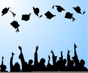 Congratulations Graduates Clipart.