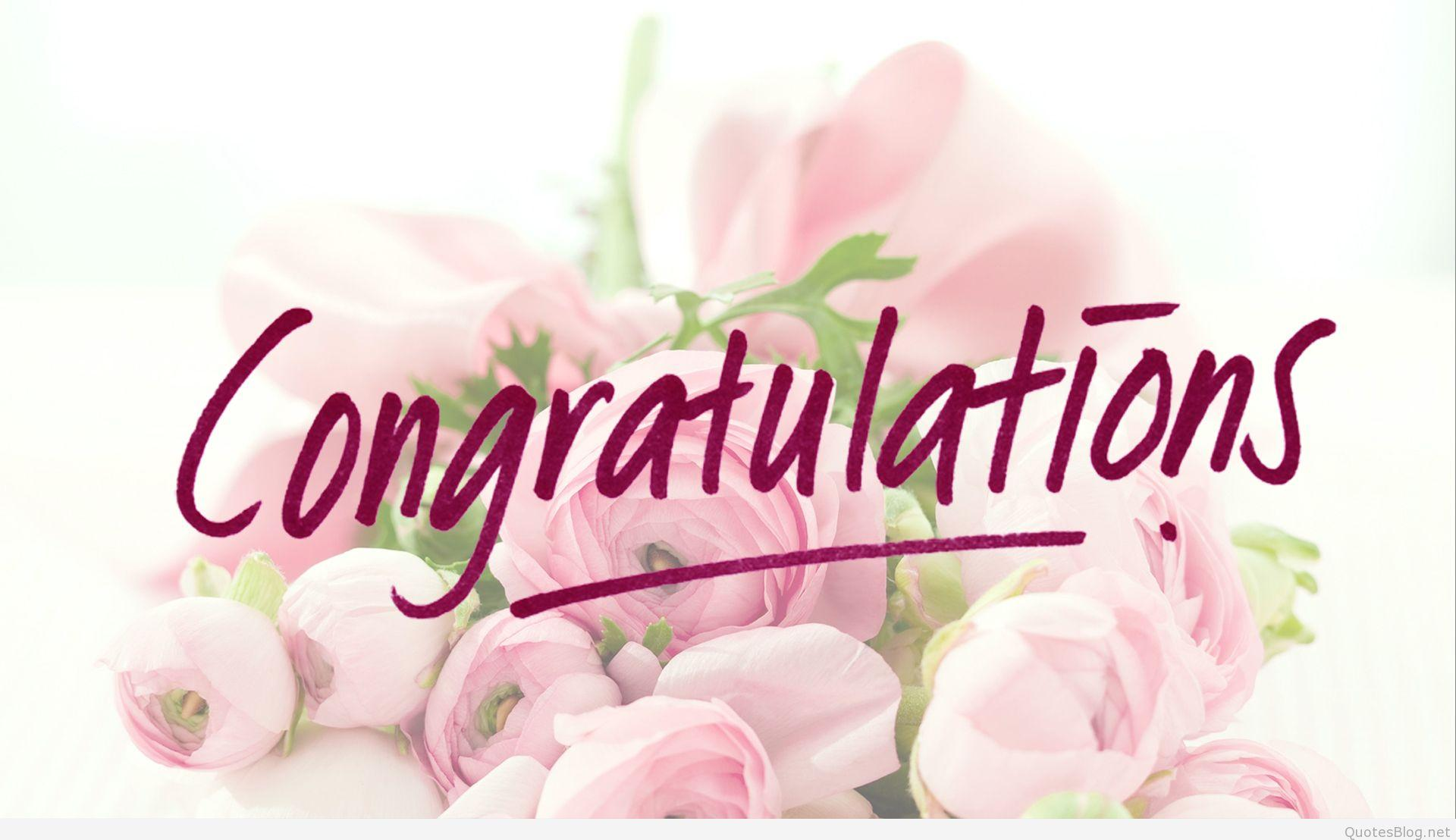 Congratulation Images Free With Flower In HD.