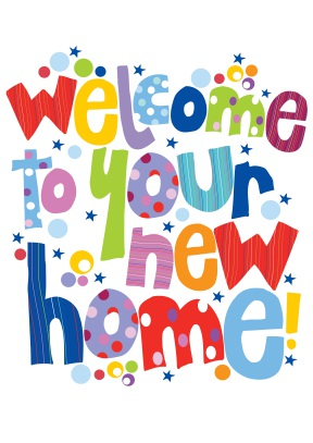 Welcome To Your New Home Clipart.