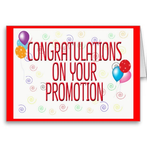 Congratulations On Your Promotion Clipart Promoti.
