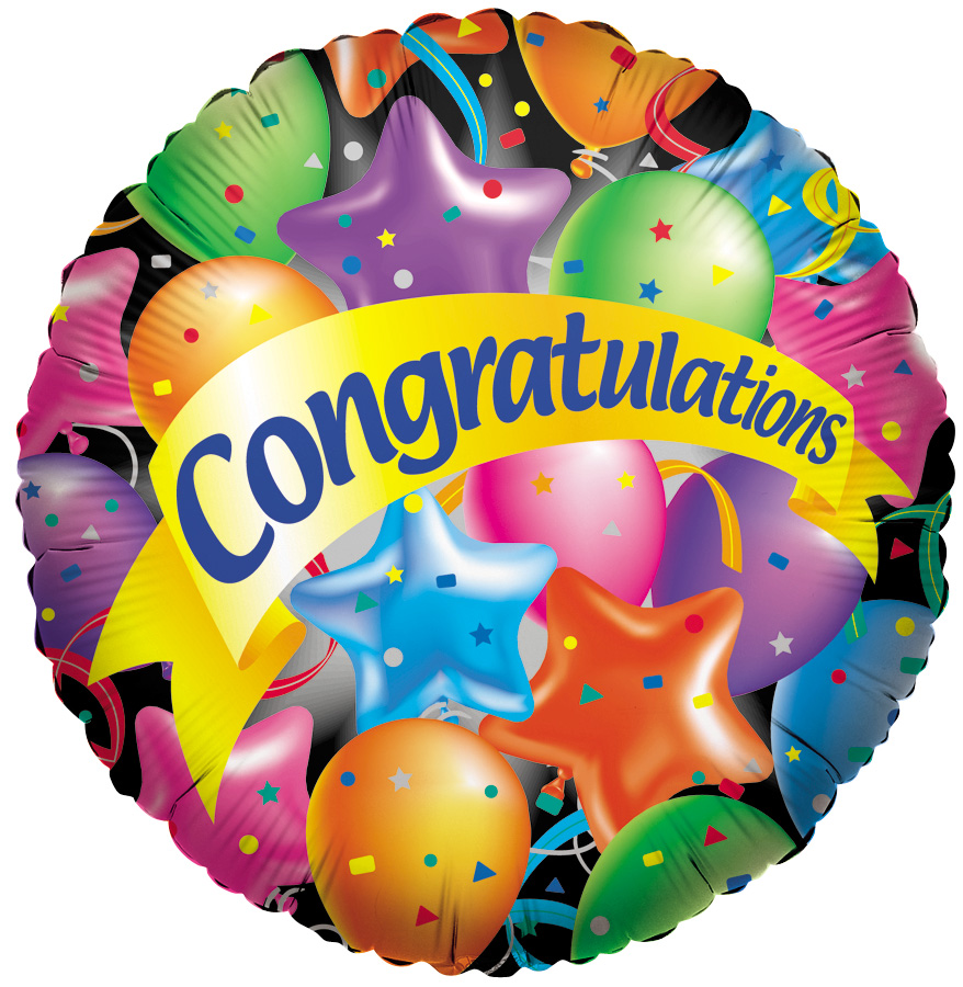 Congratulations On Your Promotion Clip Art N6 free image.