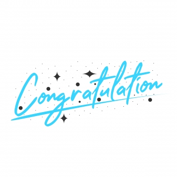 Congratulations Png, Vector, PSD, and Clipart With Transparent.