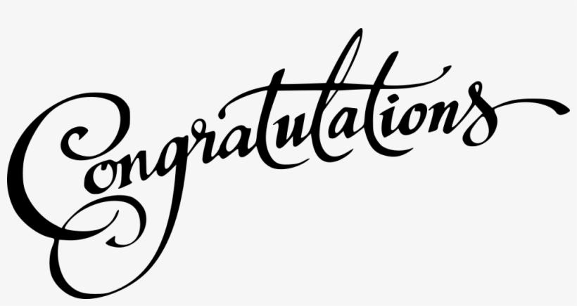 Congratulations PNG Images.
