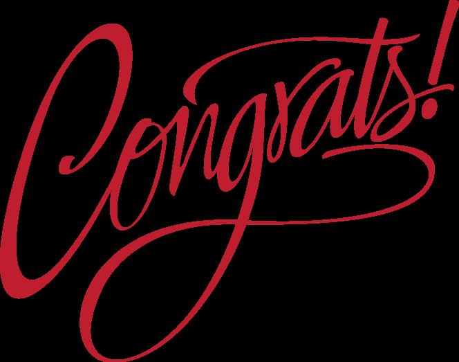 HD #congrats #congratulations #words.