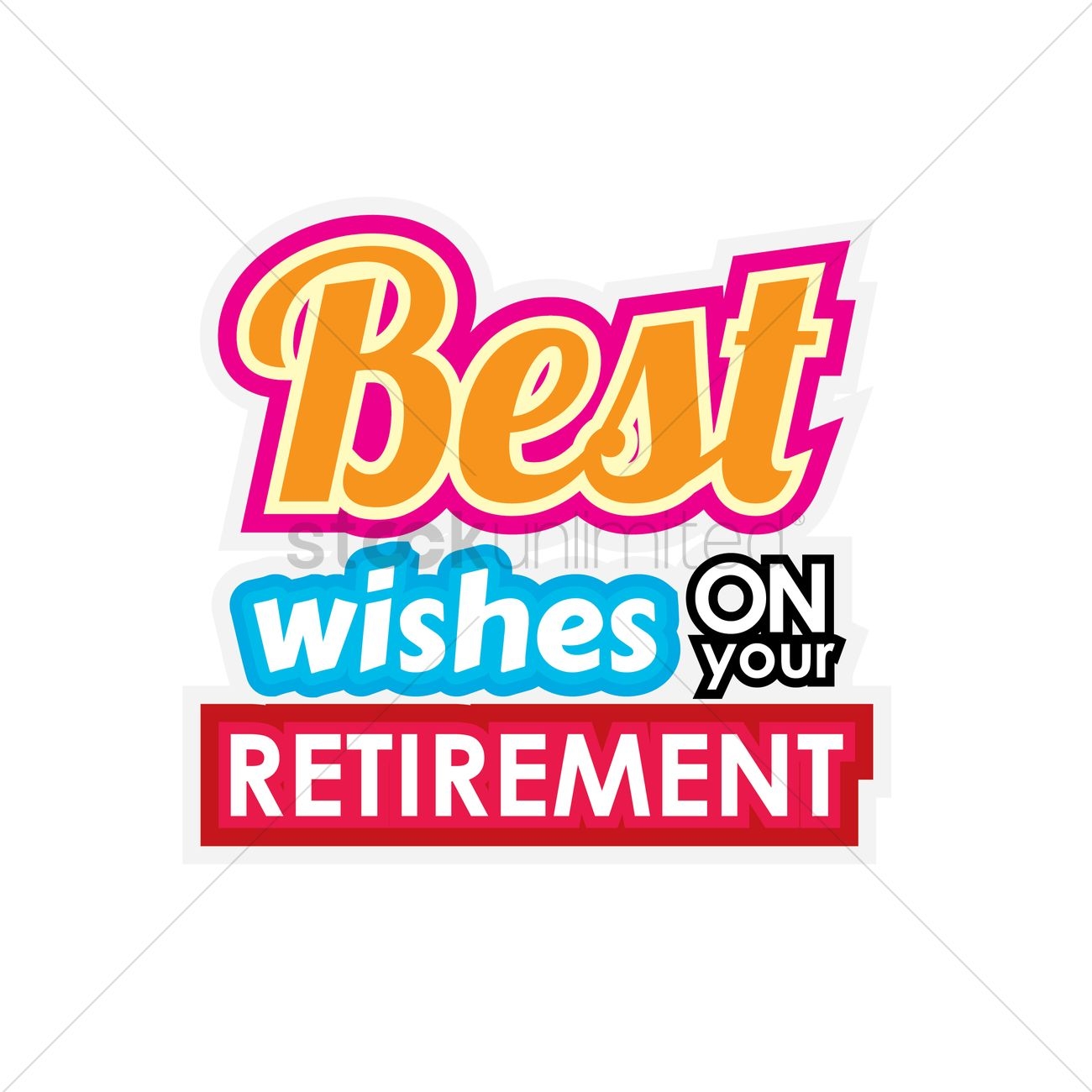 Congratulations On Your Retirement Clipart.