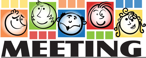Congregational Meeting Clipart.