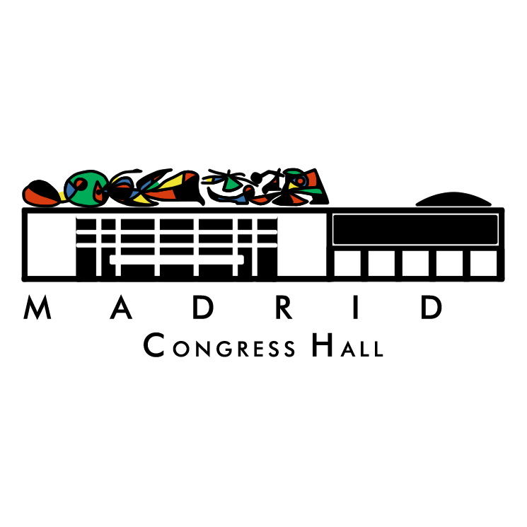 Madrid congress hall Free Vector / 4Vector.