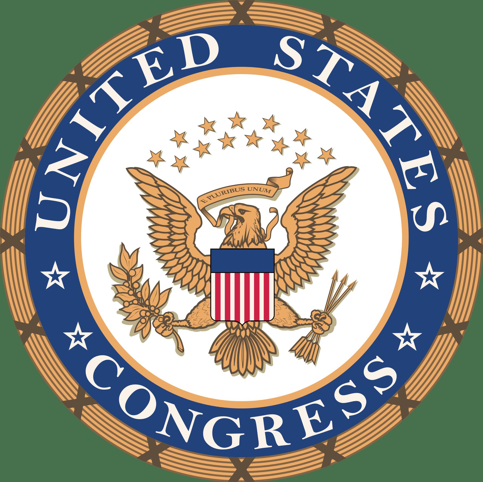 US Congress Logo transparent PNG.