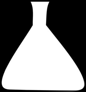 Blank Erlenmeyer Flask Clip Art at Clker.com.