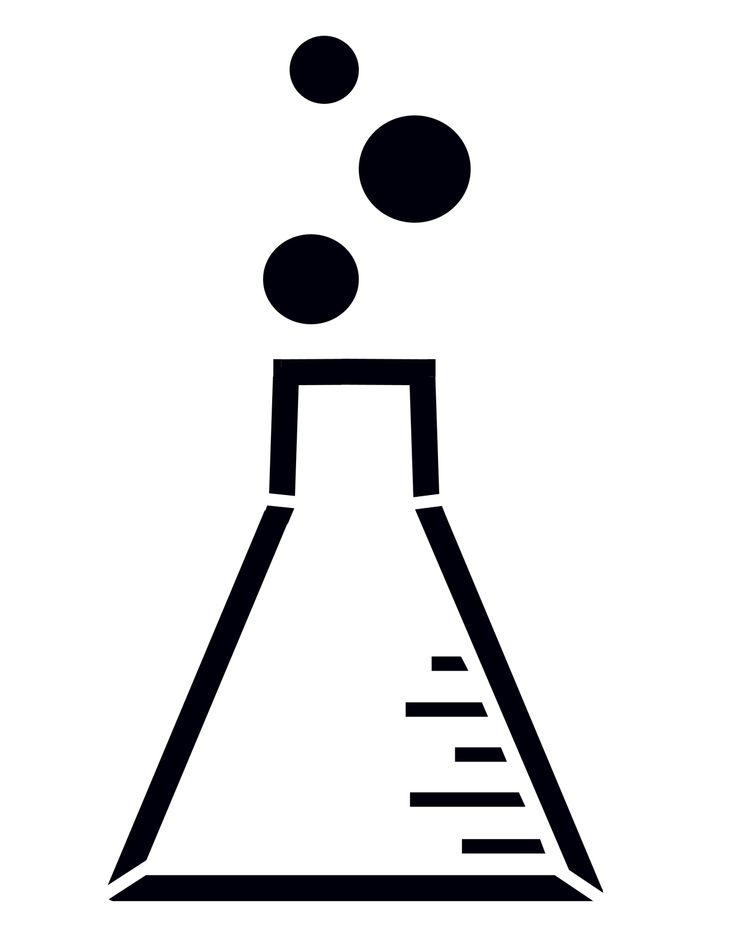 Conical flask clipart - Clipground