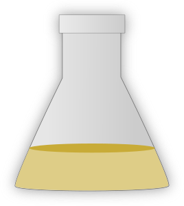 Conical flask clipart #15