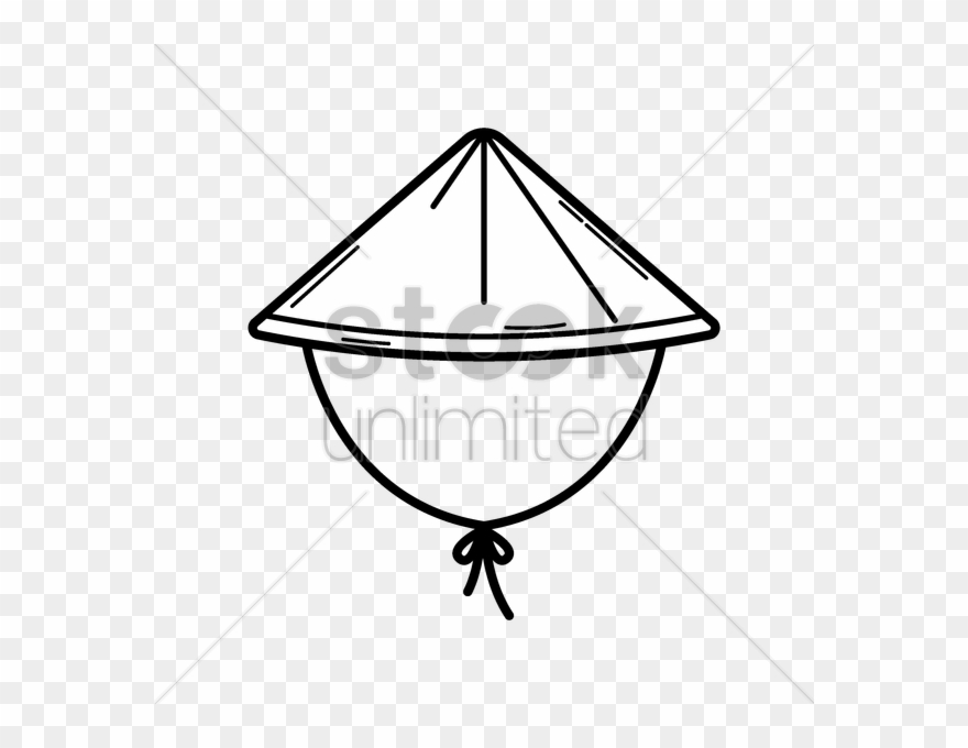 Asian Conical Hat Clipart (#2166624).