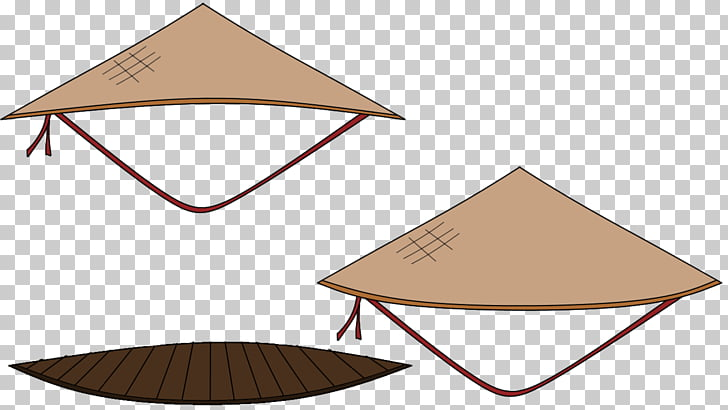Asian conical hat Cone Headgear Clothing Accessories, Hat.