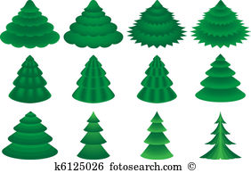 Conifers Clip Art Royalty Free. 2,813 conifers clipart vector EPS.