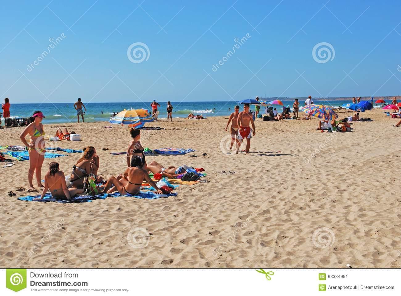 Conil De La Frontera Beach. Editorial Photo.
