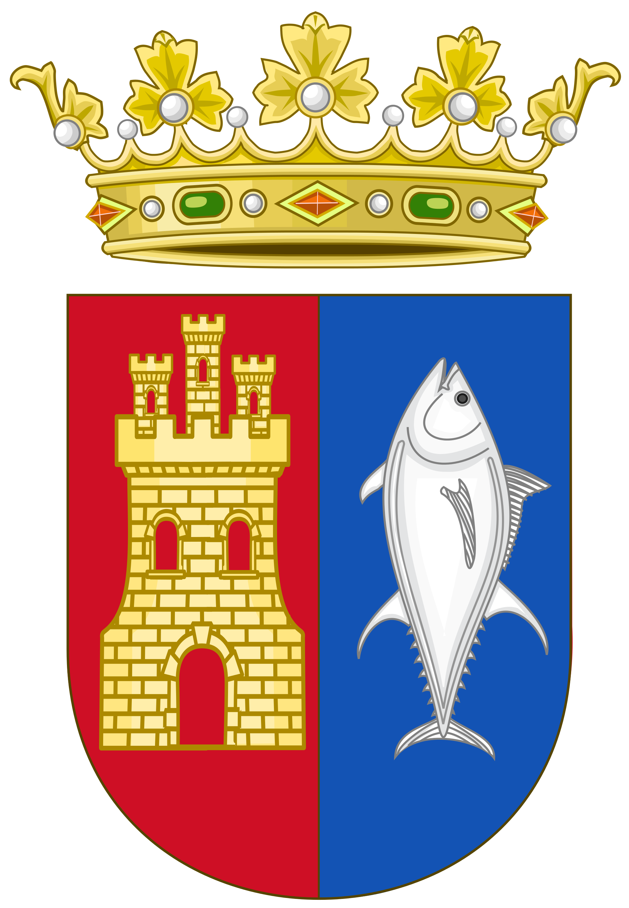 File:Coat of Arms of Conil de la Frontera.svg.