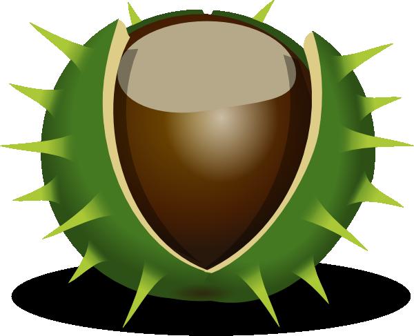 Chesnut Clip Art at Clker.com.