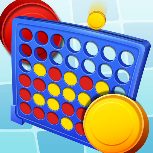 Connect 4: 4 in a Row App for iPhone.