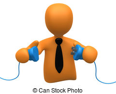 Cable connect connection cord electric electrical Clipart and.