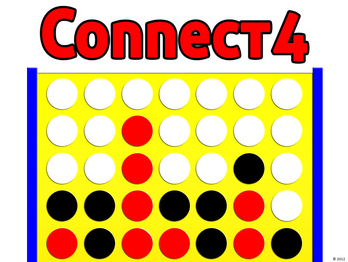 Connect4 PowerPoint Template.