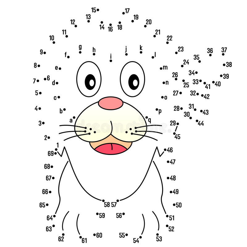 Connect Dots Stock Illustrations.