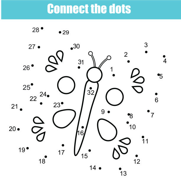 Best Connect The Dots Game Illustrations, Royalty.