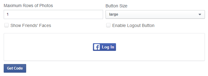 Official Facebook Connect button as PNG.