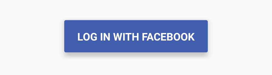 How to apply Material Design Facebook button in android.