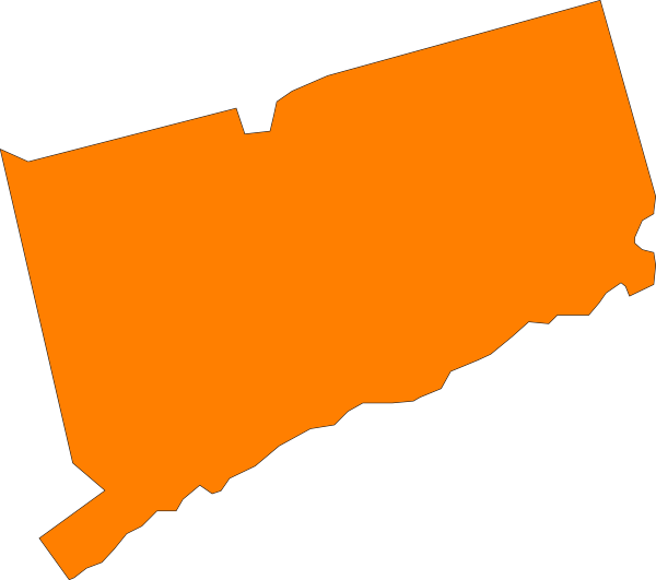 Connecticut State Orange Clip Art at Clker.com.
