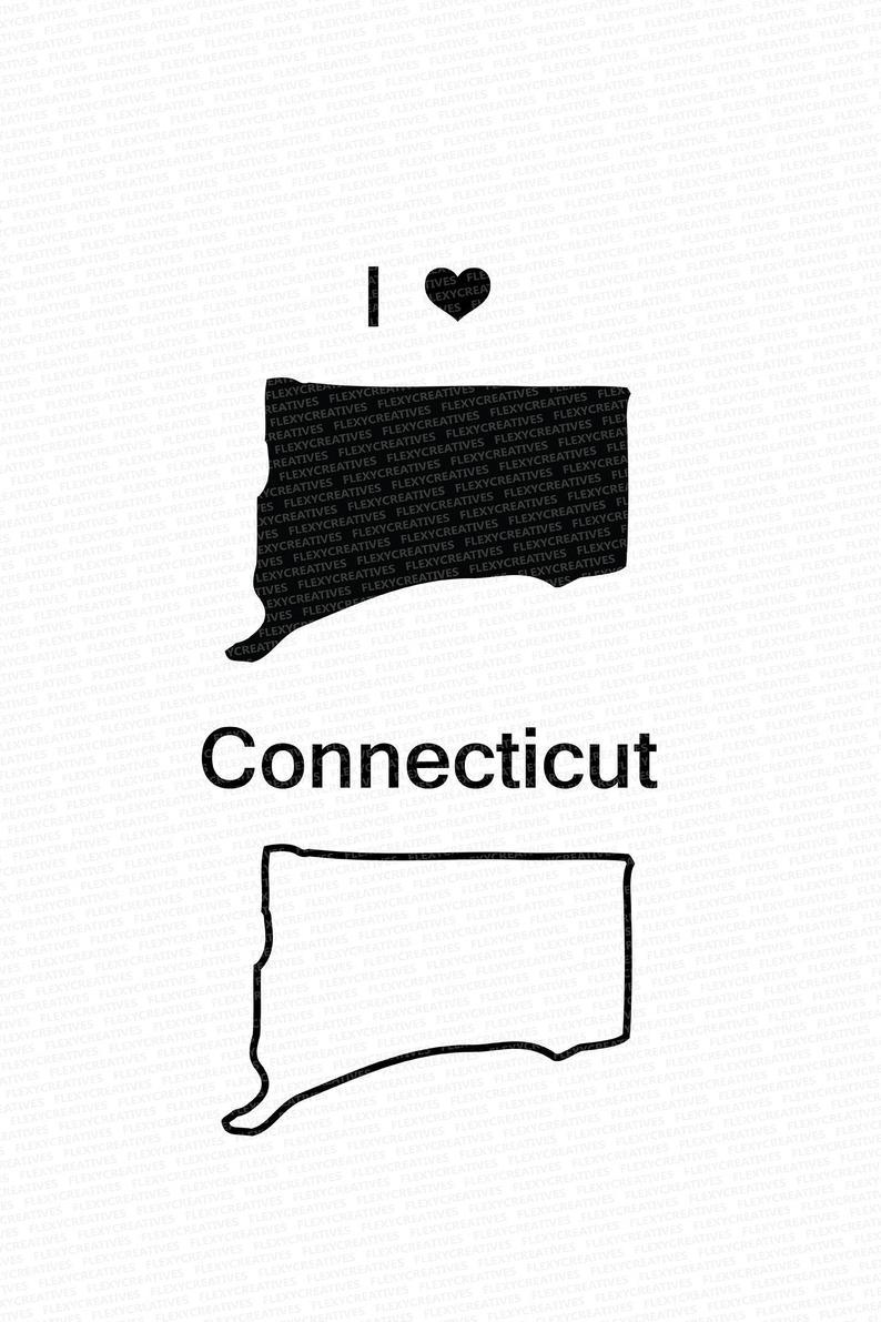 Connecticut Vector State Clipart Connecticut Clip Art.