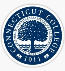 Connecticut College Stickers in 2019.