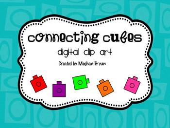 Connecting Cube {Clipart}.