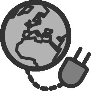 Internet connection clipart.