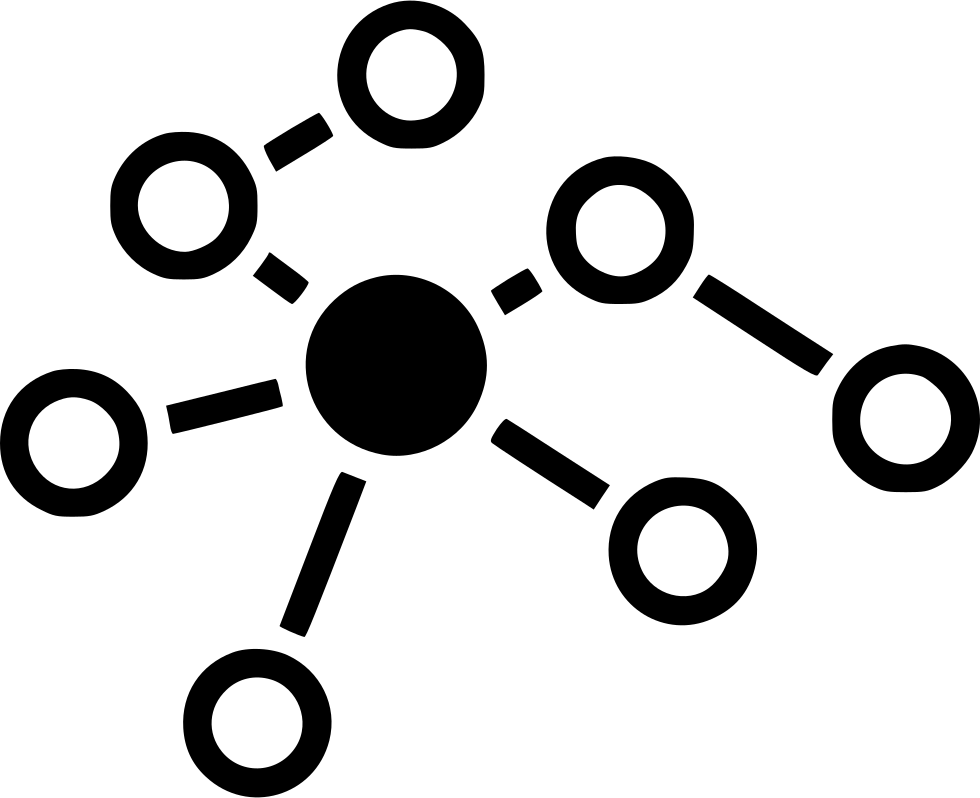 Group Graph Link Connect Connection Structure Relations Svg Png Icon.