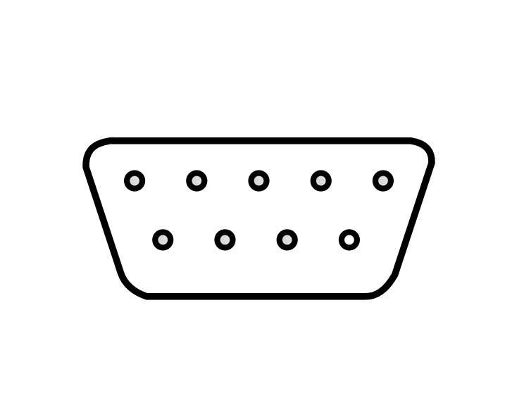 Free Computer Connector Clipart, 2 pages of Public Domain Clip Art.