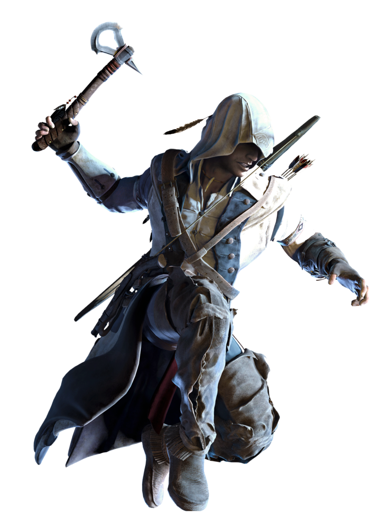 Download Free png Image AC3 Connor AA Render..