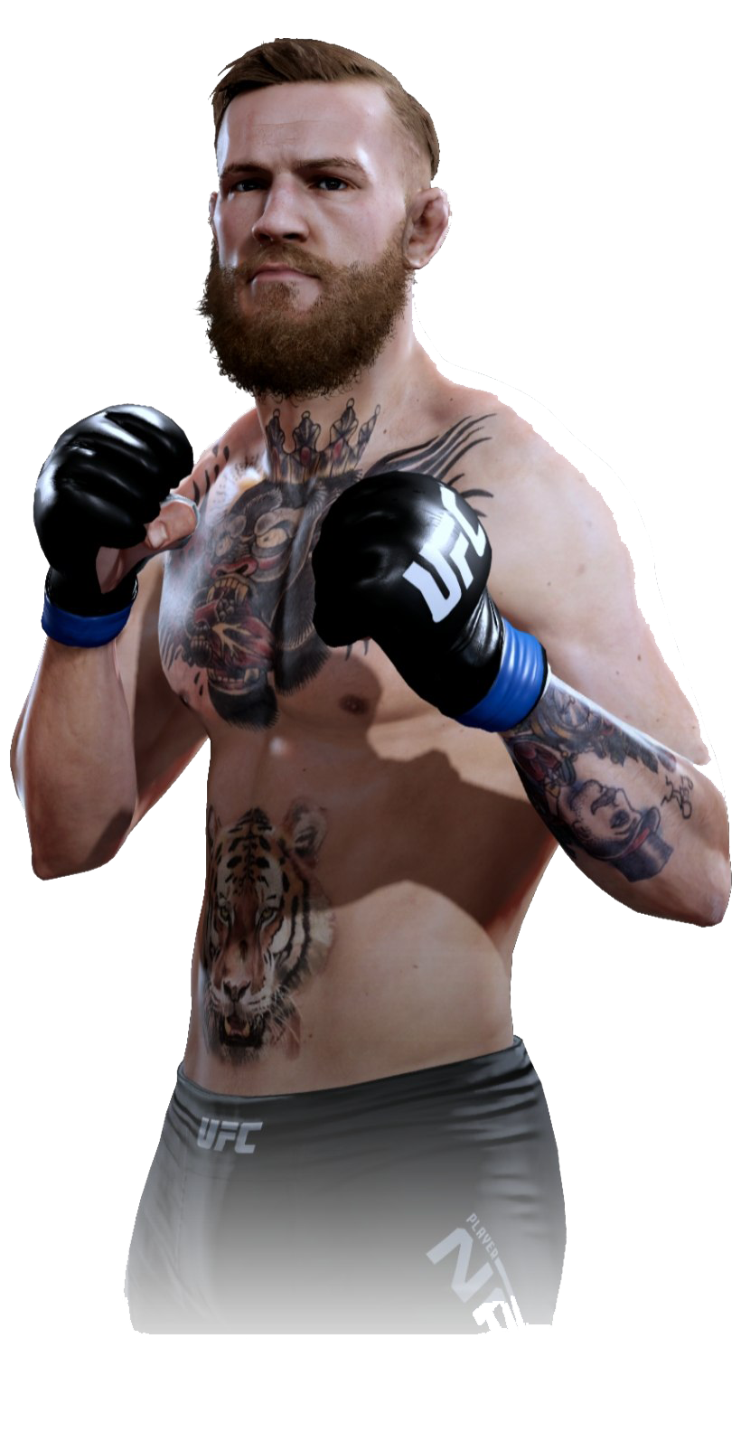 Conor Mcgregor PNG Clipart Background.