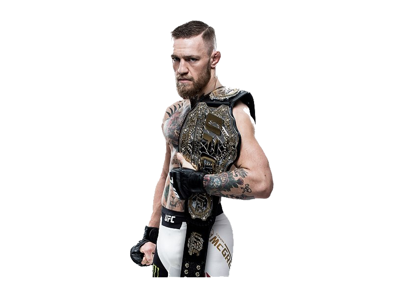 Conor Mcgregor PNG HD Quality.