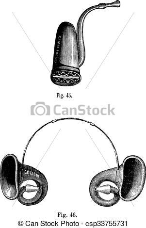 Vectors of Fig. 45. Cornet English Fig 46. Conques acoustic.