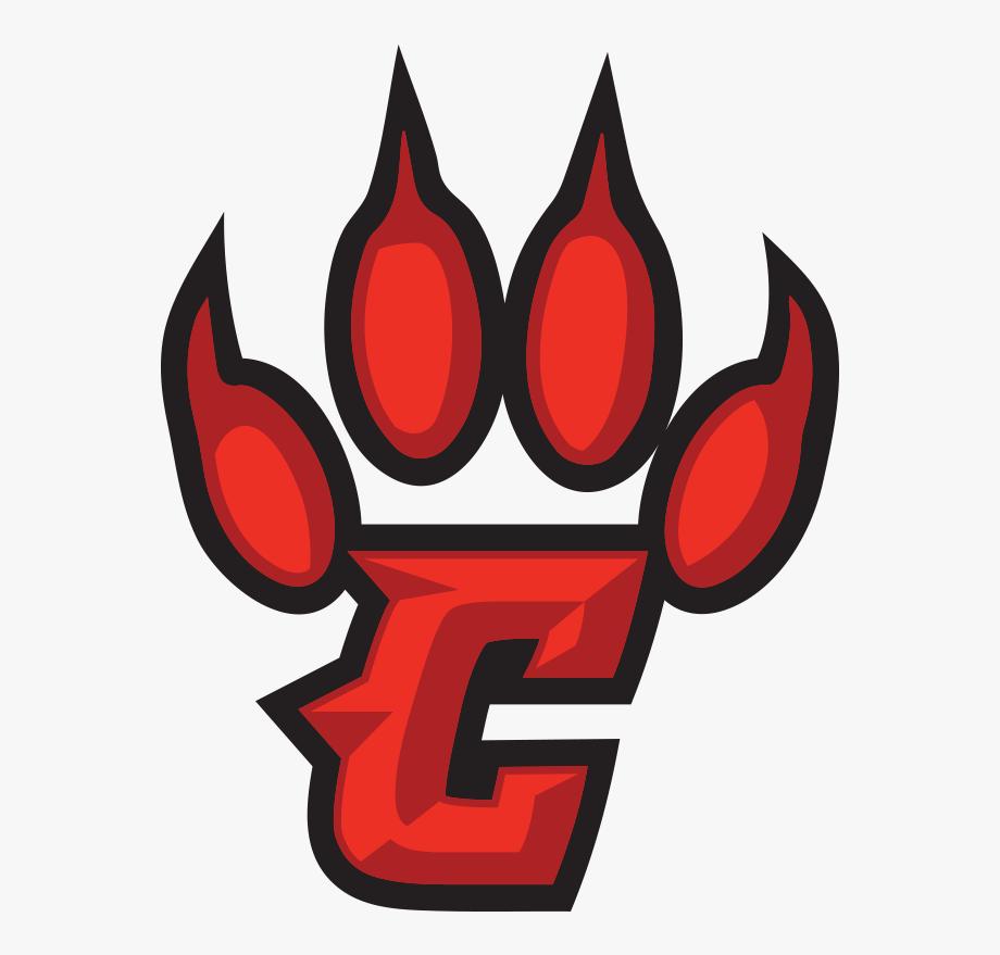 Conrad Redwolves Claw Logo.