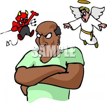 Devil and Angel on My Shoulder.