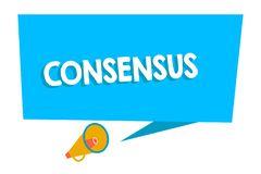 Consensus Stock Illustrations.