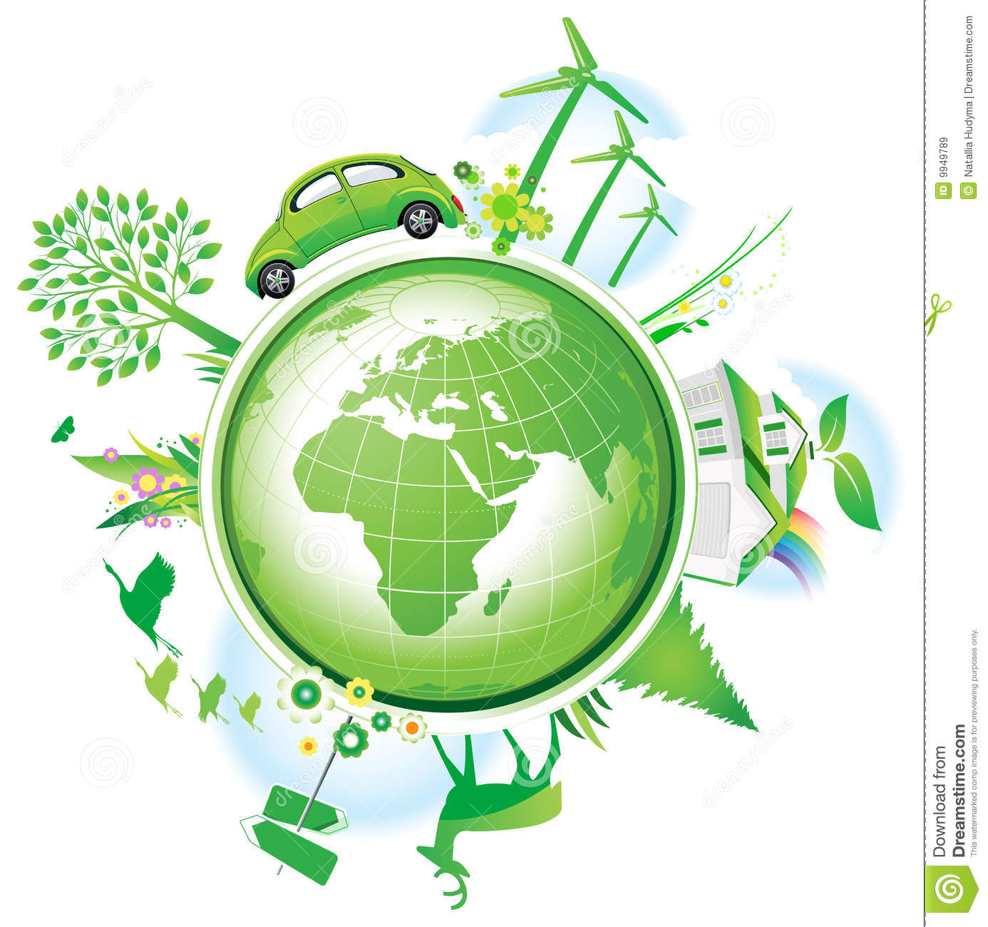 Energy Conservation Clipart.