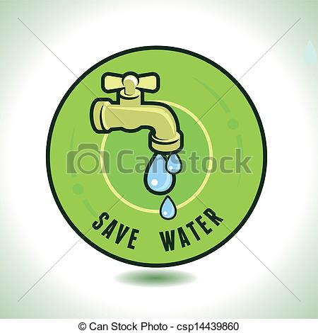 Water drop tap econology conserve clipart free.
