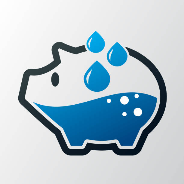 Best Water Conservation Illustrations, Royalty.
