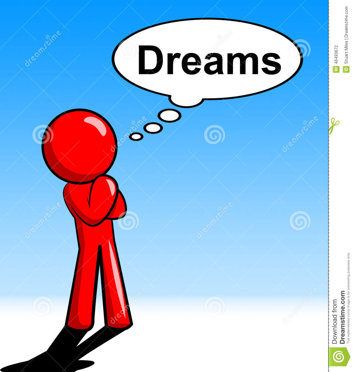Daydreamer Stock Illustrations.