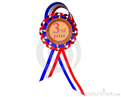 First Prize Medal Royalty Free Stock Images.