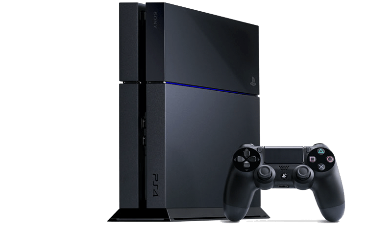 Playstation PS4 transparent PNG.