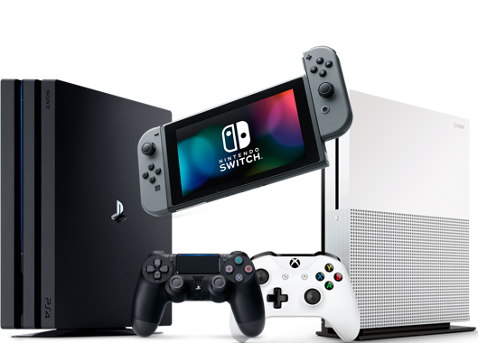 Console PNG Picture.
